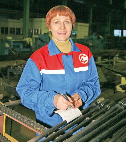 Ирина Овчаренко на рабочем месте