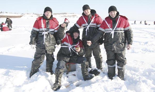 команда рыбаков с Яреги