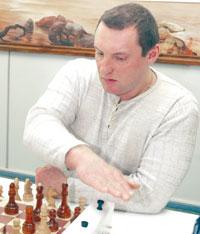 А. Мелехин из команды-победительницы