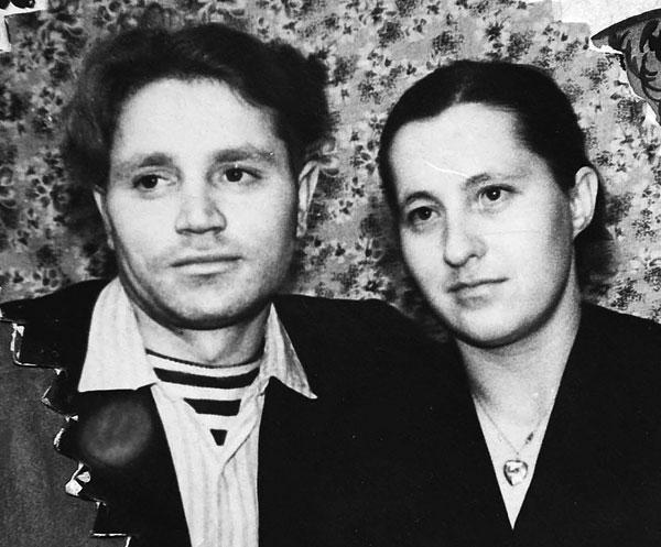 супруги Полушины в 60-е годы