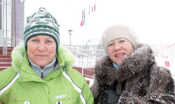 Р. Сметанина и С. Кожевина (в «копилках» у каждой по 26 медалей крупных международных состязаний)