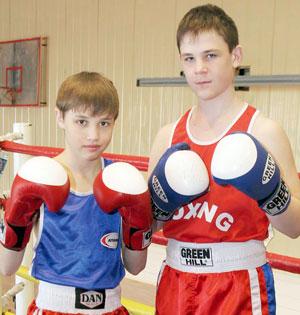 Р. Сафиуллин (слева) и Д. Кулеша