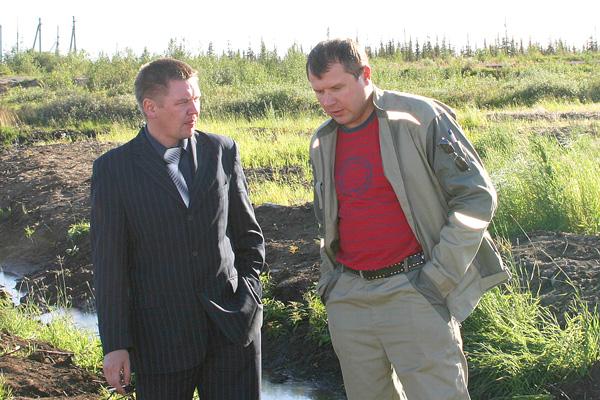 И. Шарафеев (слева) и Д. Петров
