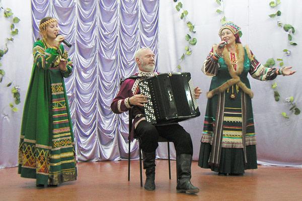 фрагмент концерта в Усть-Лыже