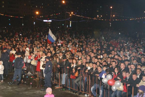 концерт «Ночных снайперов» в Усинске