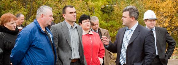 участники конференции на объекте ООО «ЛУКОЙЛ-Ухтанефтепереработка»