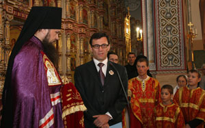 епископ Питирим и А. Хабибуллин