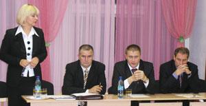 (слева направо) Т. Капийчук, А. Коновалов, С. Санюкович, Н. Кулябов