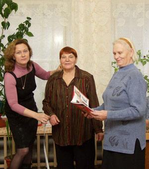 Елена Белобородова снимает мерку