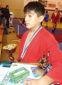 Н. Мамедов провел на турнире самую короткую схватку