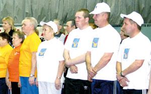Участники спартакиады