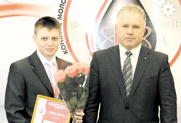 А. Бондарев и П. Оборонков