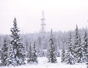 Зимние пейзажи в районе Баянды