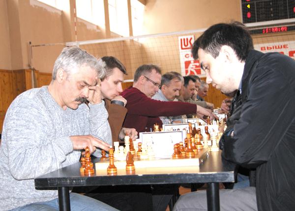 А. Рубцов (справа) и А. Шилов