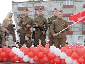 Молодые специалисты «ЛУКОЙЛ-Коми» с театрализованной постановкой (Усинск)