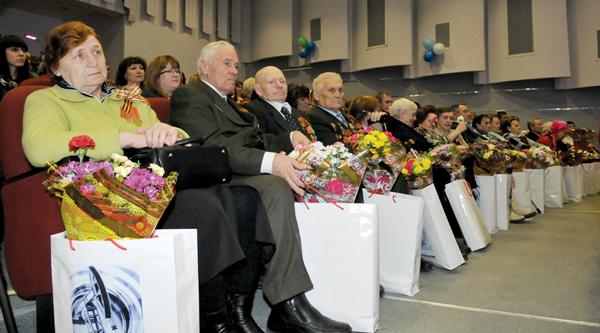 Ветераны – на почетных местах