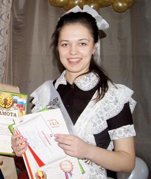 К. Сиротина – «Ученик года» в нижнеодесской школе