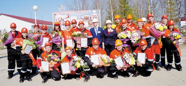 Участники и организаторы конкурса