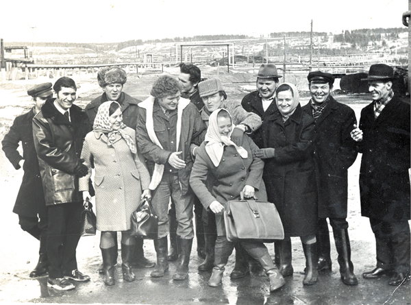 Работники Ухтинского НПЗ (1973 г.)