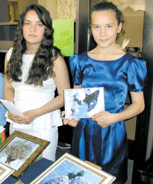 Галя и Катя Каневы