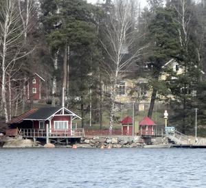 Рыбацкая идиллия на финском озере