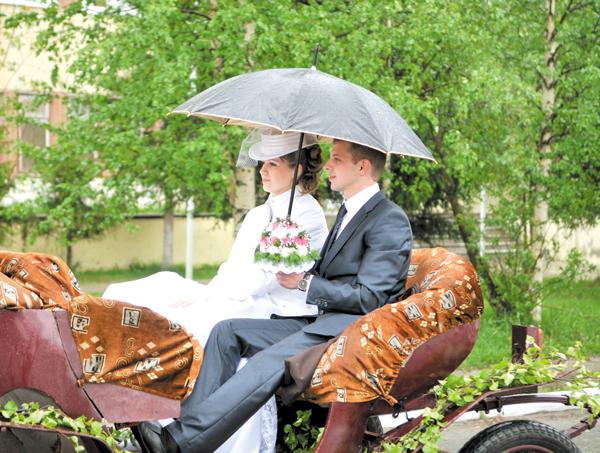невеста Екатерина Нагога вместе со своим избранником Николаем