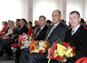 Награжденные работники усинского ТПП