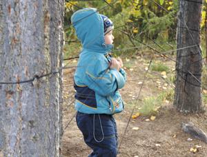 Ищем клад в лесу