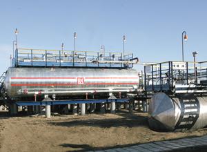 На Восточно-Сарутаюском нефтепромысле