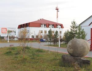 Административно-бытовой комплекс на Усинском месторождении