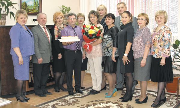 Шефы с коллективом СОШ №4