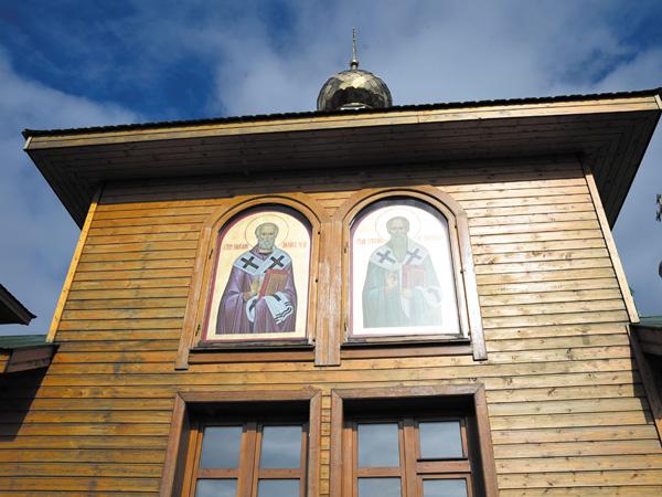 Новое убранство церкви села Щельябож