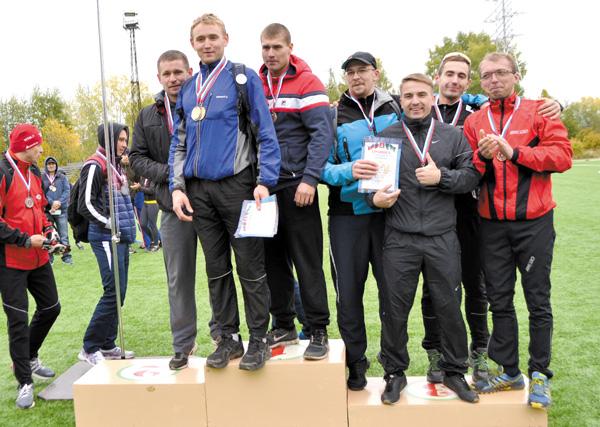 Победители легкоатлетической эстафеты