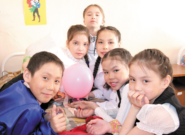 Воспитанники санаторной школы-интерната Нарьян-Мара