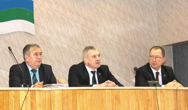 (слева направо) А. Коновалов, Е. Видюков, М. Серов