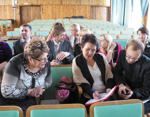 Участники семинара в Ухте