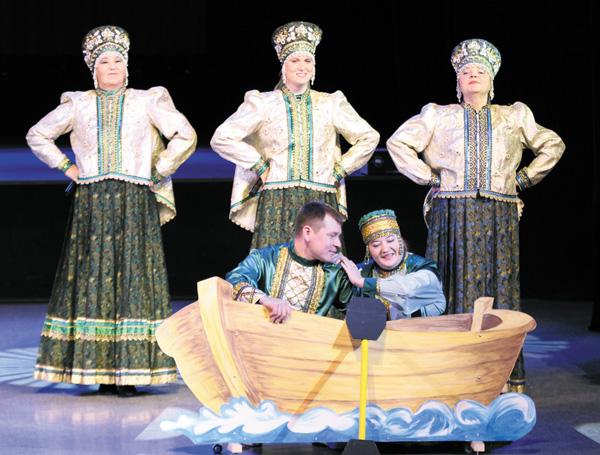 Народный ансамбль коми песни «Северные цветы»