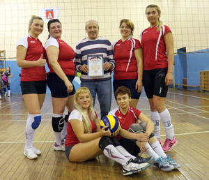 Ярегские волейболисты