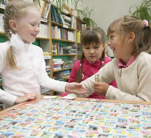 В библиотеке для детей часто проводят мероприятия