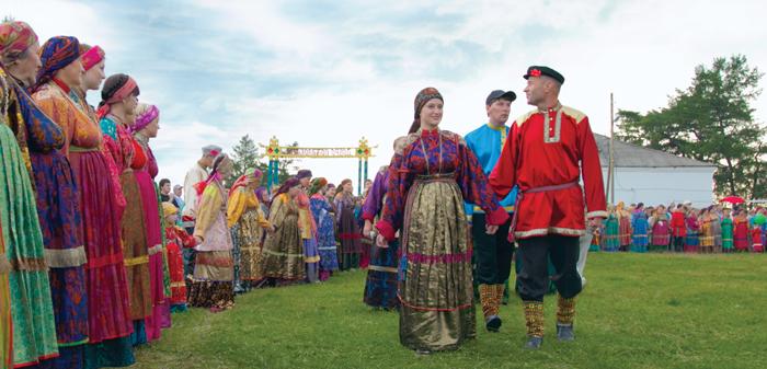Во время празднования Усть-Цилемской горки