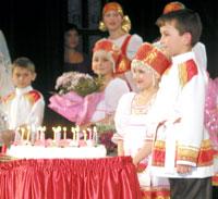 праздничный торт – ансамблю-юбиляру