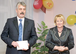 Т. Полякова и Ю. Медведев