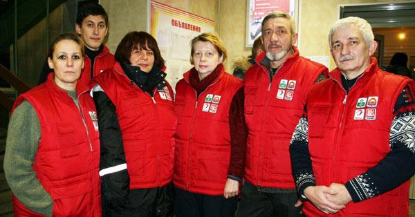 бригада медиков «Красного чума» перед отлетом в тундру