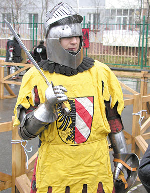 Так выглядит средневековый рыцарь