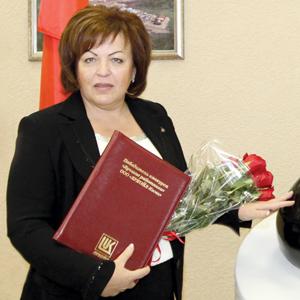В. Плачинда с наградой