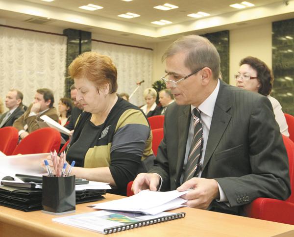 Во время заседания
