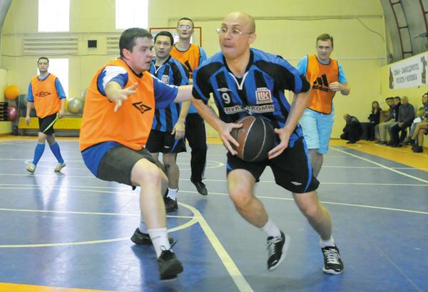 Баскетбольный турнир в рамках Спартакиады центрального аппарата Общества