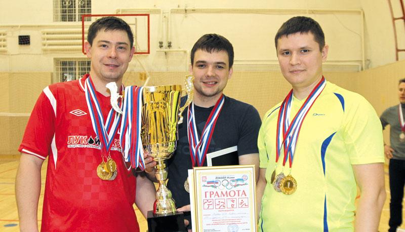 Победители Спартакиады – команда «Производство»