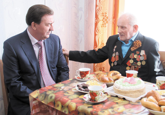 А. Лейфрид в гостях у С. Чупрова