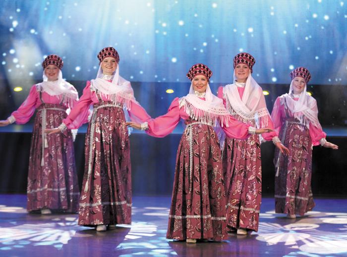 Новикбожские красавицы на прошлогоднем гала-концерте «Многоцветье Севера»